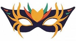Máscaras de baile par imprimir 15