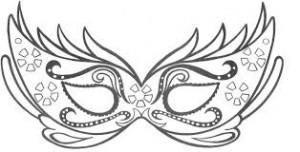 Máscaras de baile para imprimir 6