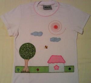 Patchcolagem em camisetas criativos 3
