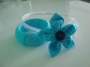 Tiara e pulseiras artesanais 2 1