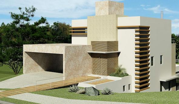 muros de casas modernas8
