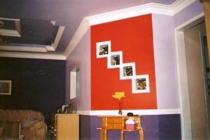 Casas decoradas com gesso 1