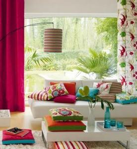 Decoração de Salas Coloridas: 25 modelos