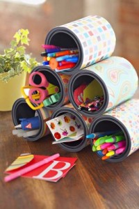 Decorar ambiente com latas 1