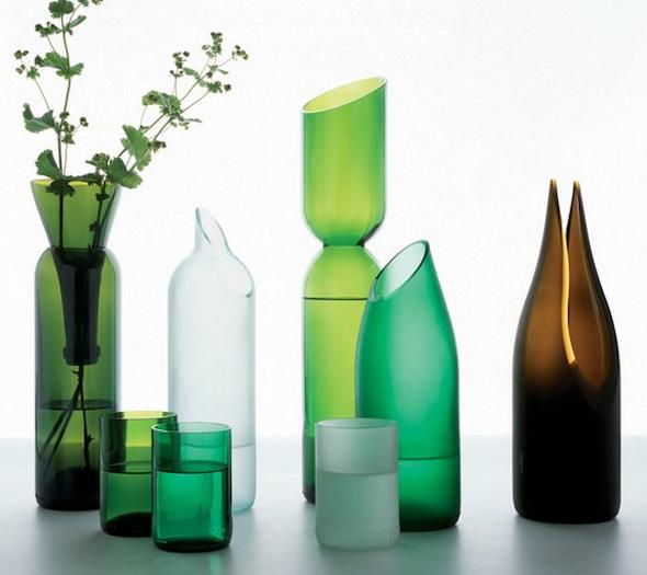 para lhe ajudar na produ??o de seu artesanato com garrafas de vidro ...