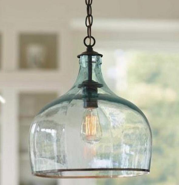Luminária Com Garrafão: 23 Modelos Decorados