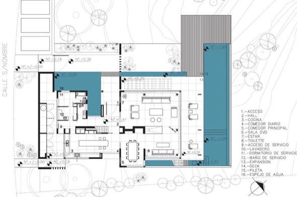 12-plantas de casas com piscinas modelos