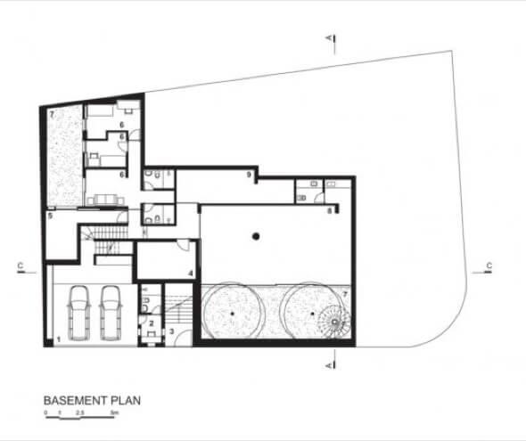 15-plantas de casas com piscinas modelos