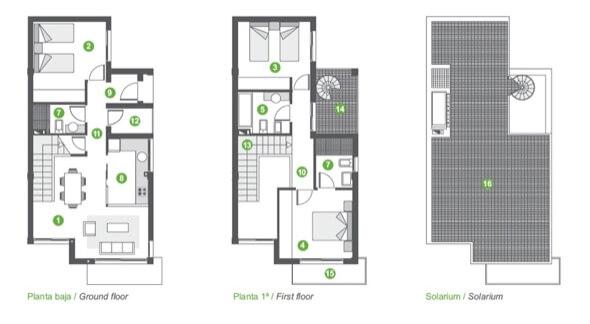 5-plantas de casas com piscinas modelos
