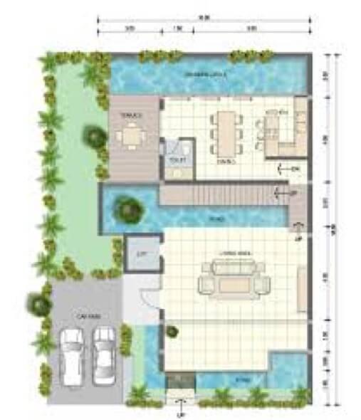 6-plantas de casas com piscinas modelos