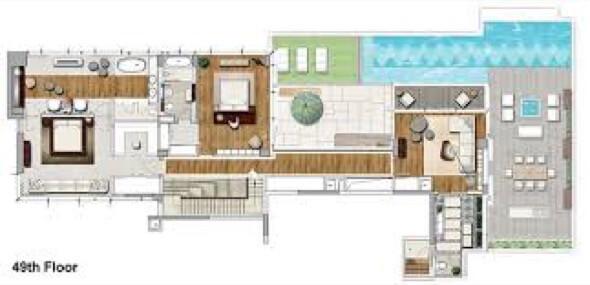 8-plantas de casas com piscinas modelos