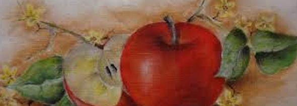 Pintura de fazenda em tecido2