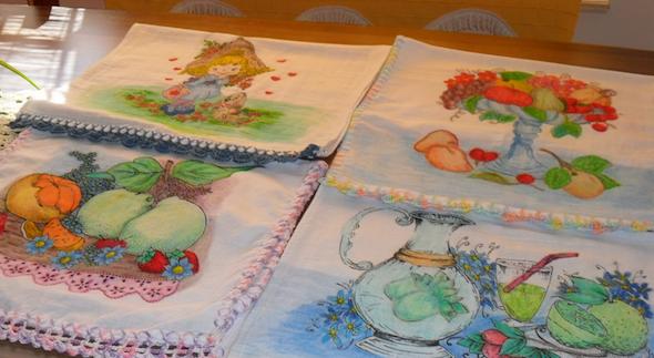 Pintura de fazenda em tecido3
