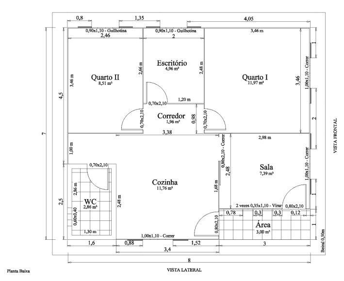 32 modelos de plantas de casas modernas para tirar id ias