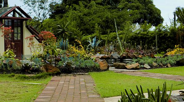 modelos de jardim bonitos e bem decorados que podem lhe servir de