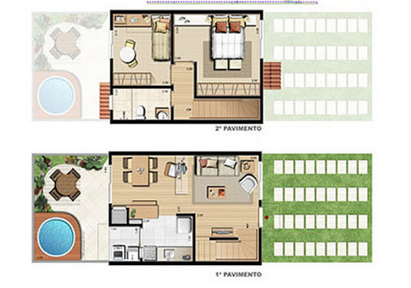 Related image with Plantas De Casas De Campo 32 Modelos Para Construir
