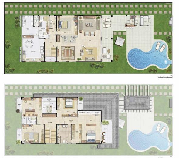 plantas+de+casas+modernas+2+3+dormi4