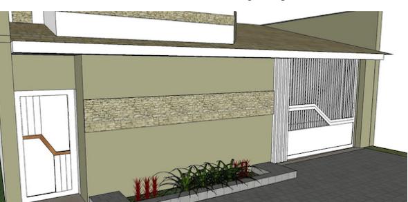 12-Frente de casas com muros exemplos bonitos