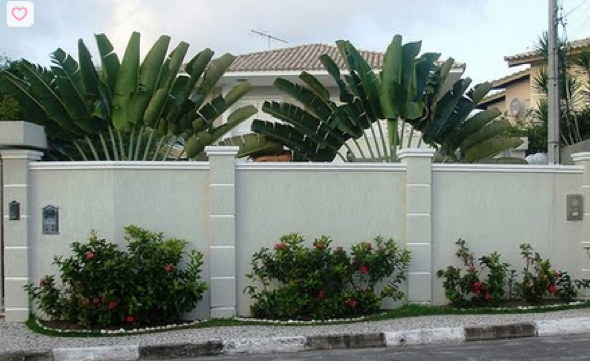 15-Frente de casas com muros exemplos bonitos