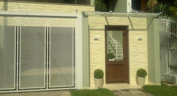 18-Frente de casas com muros exemplos bonitos