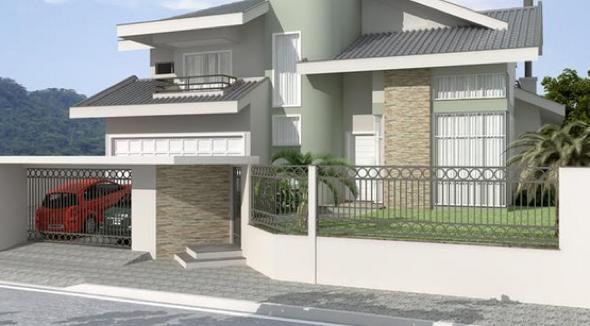 26-Frente de casas com muros exemplos bonitos