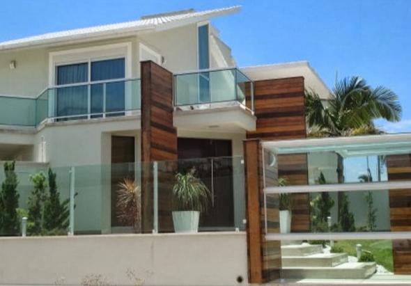 29-Frente de casas com muros exemplos bonitos