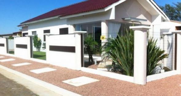 35-Frente de casas com muros exemplos bonitos