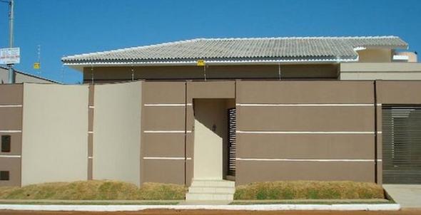 5-Frente de casas com muros exemplos bonitos