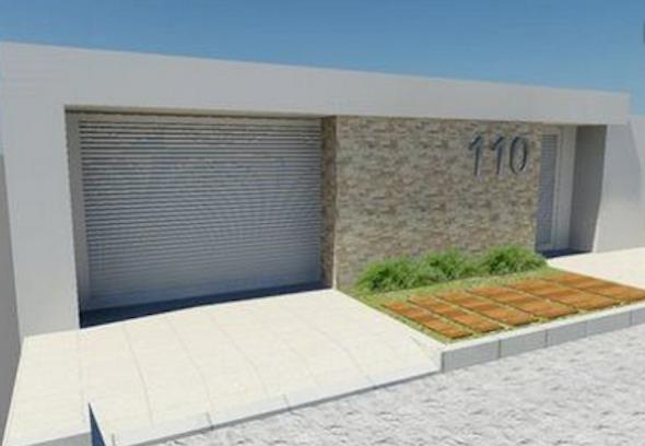8-Frente de casas com muros exemplos bonitos