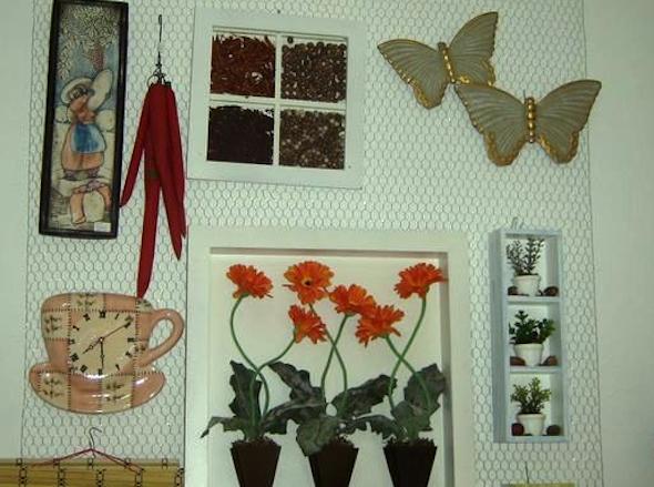 Conjunto de quadros para decoração1