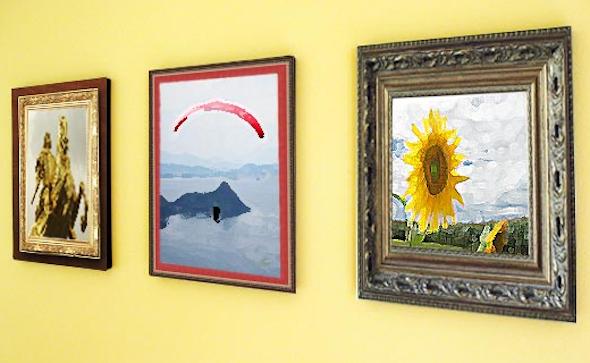 Conjunto de quadros para decoração18