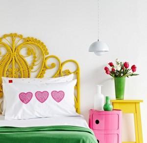Móveis coloridos para quarto 01