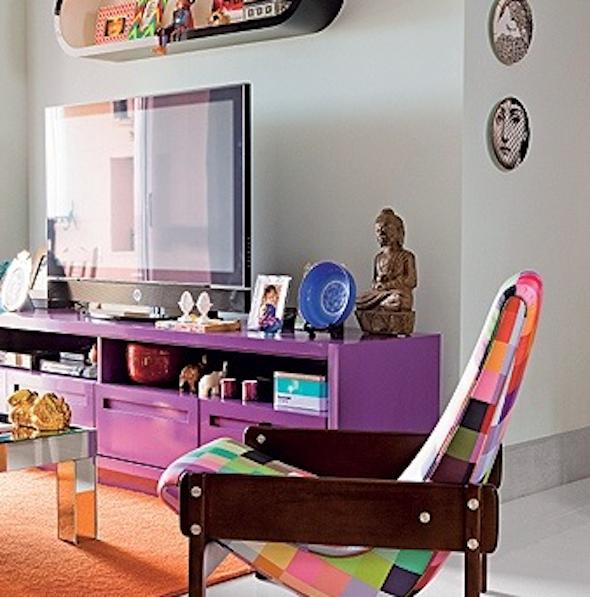 Móveis coloridos para sala7