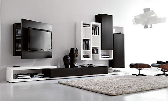 estantes modernas para sala9