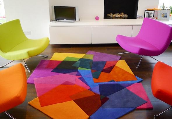 tapete colorido na decoracao15