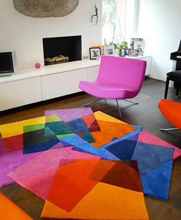 tapete colorido na decoracao7