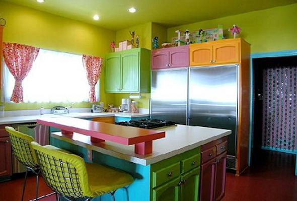 cozinhas multicoloridas modelos6
