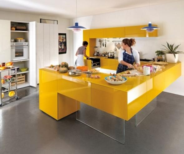 cozinhas multicoloridas modelos8