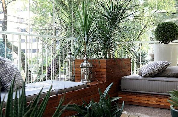 Mini jardim na varanda apartamento for Modelos de mini apartamentos