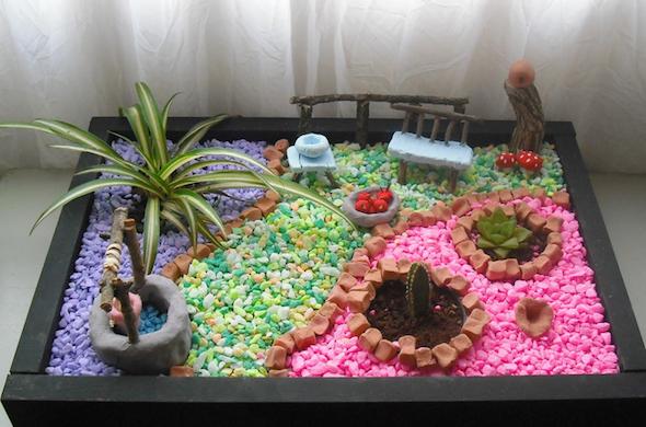 mini jardins no vidro:Abaixo separamos algumas imagens de mini jardins feitos em
