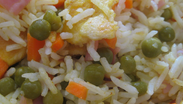 fazer arroz primavera4