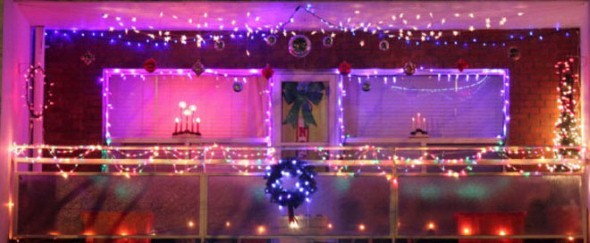 Como decorar varanda apartamento para o natal 2013 004