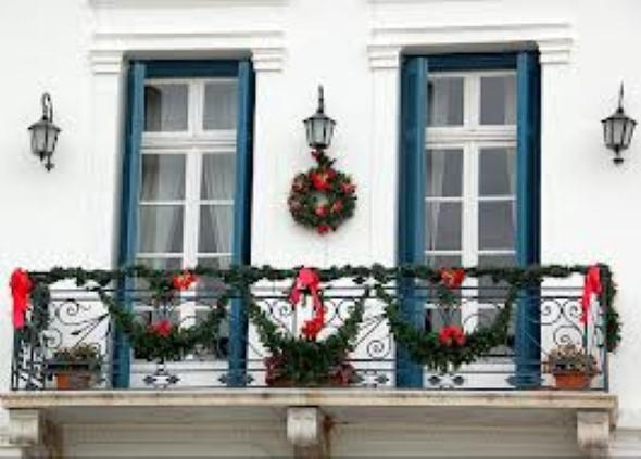 Como decorar varanda apartamento para o natal 2013 007