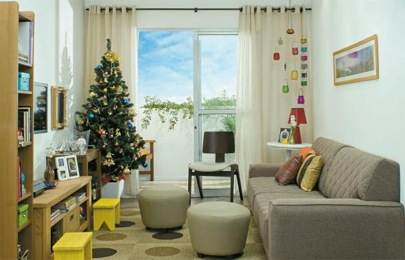 Decoração para sala no natal 2013 008