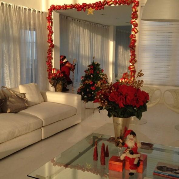 Decoracao De Sala Natal ~ Decoração para sala no Natal 2013 13 modelos e idéias para você