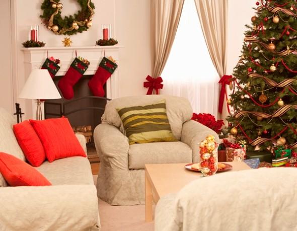 Decoração para sala no natal 2013 012