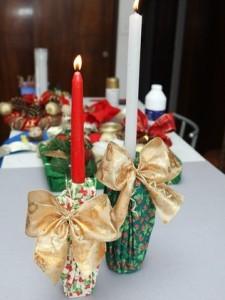 Decoração de Natal com materiais reciclados 01
