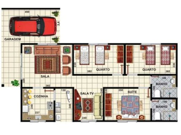 Plantas De Casas 2014 15 Modelos E Projetos Renovados Que