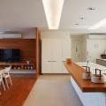 Bancadas de madeira na cozinha15