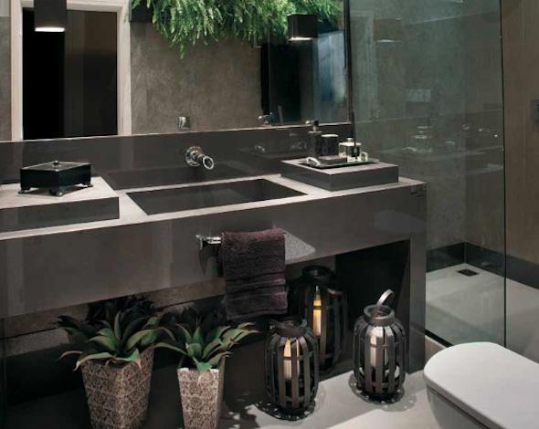 Banheiro contemporâneo 8